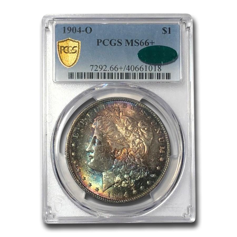 1904-O Morgan Dollar MS-66+ PCGS (CAC)