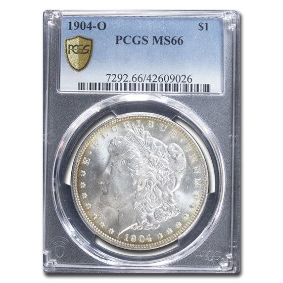 1904-O Morgan Dollar MS-66 PCGS