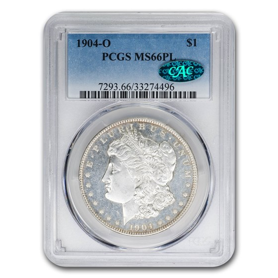 1904-O Morgan Dollar MS-66 PL PCGS CAC