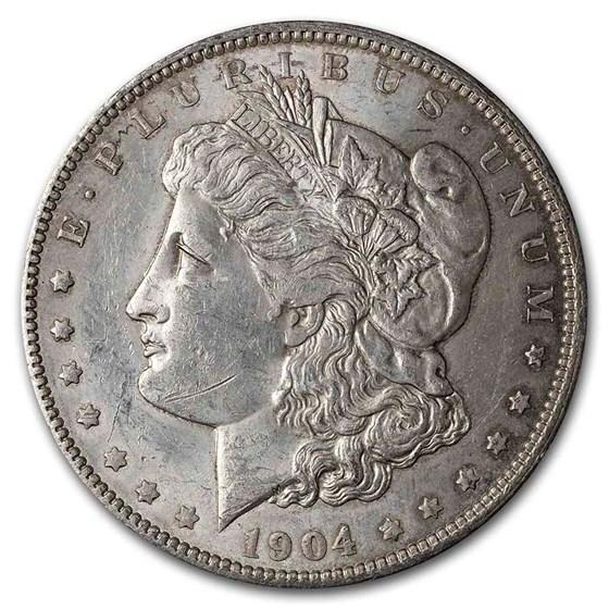 1904-O Morgan Dollar VG/VF