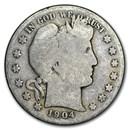 1904-S Barber Half Dollar AG