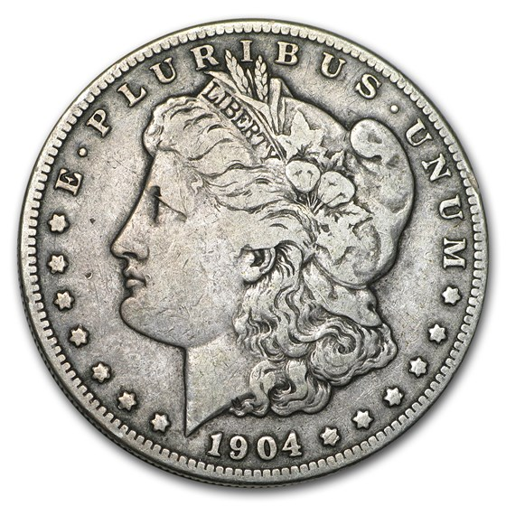 1904-S Morgan Dollar Fine