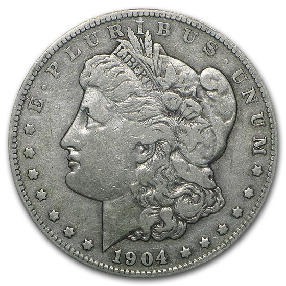 1904-S Morgan Dollar VF