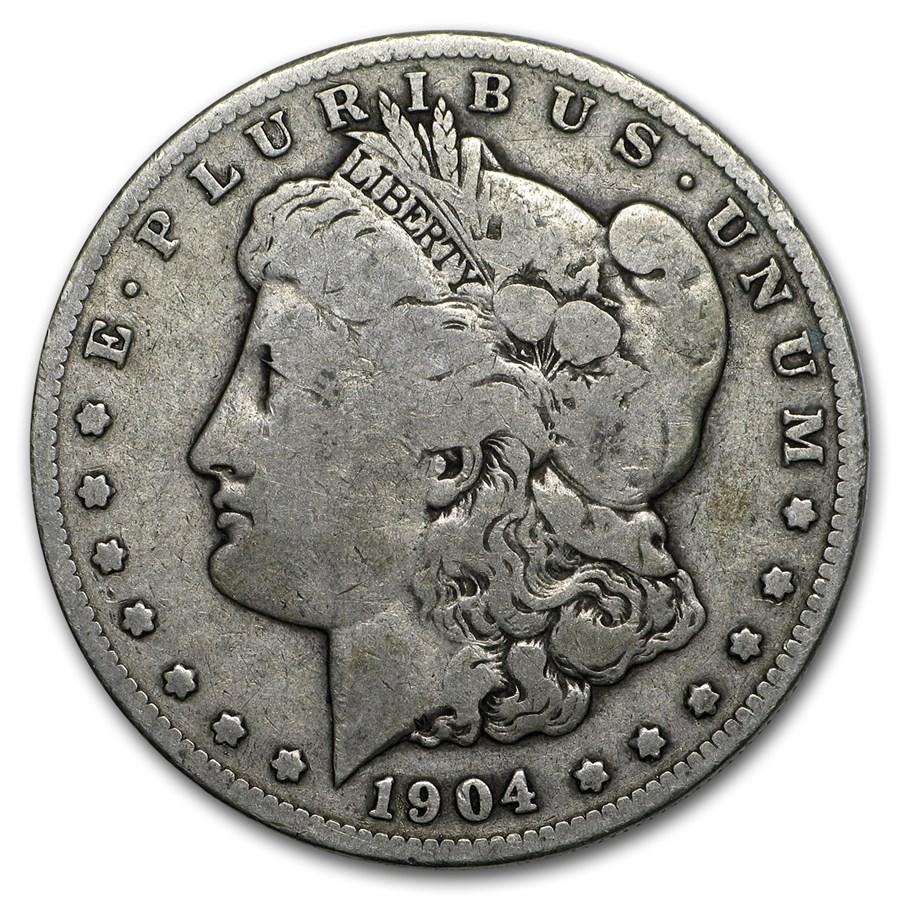 1904-S Morgan Dollar VG