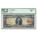 1905 $20 Gold Certificate Technicolor Note AU-55 PCGS