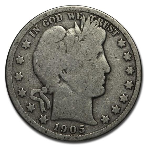 1905 Barber Half Dollar Good