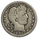 1905 Barber Quarter Good