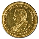 1905 Gold $1.00 Lewis & Clark XF Details (Ex-Jewelry)