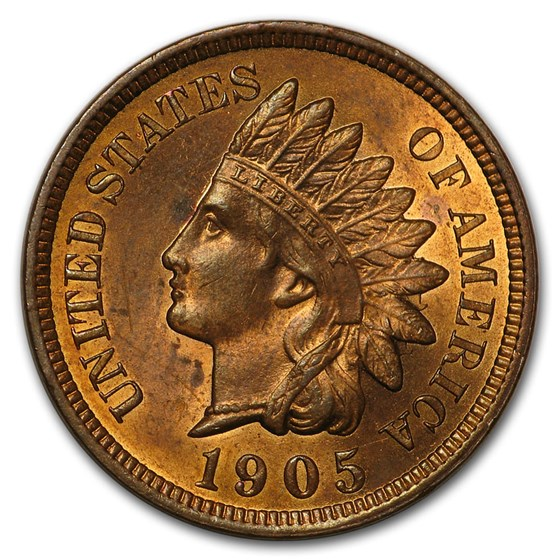 1905 Indian Head Cent BU (Red)