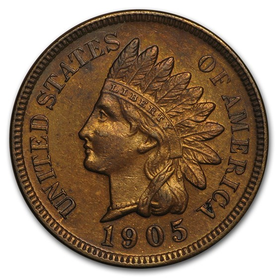1905 Indian Head Cent BU