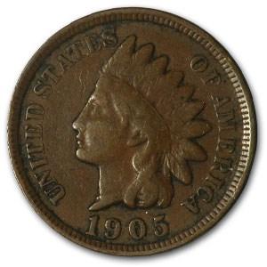 1905 Indian Head Cent Good+