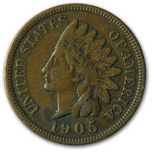1905 Indian Head Cent VF