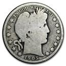 1905-O Barber Half Dollar AG