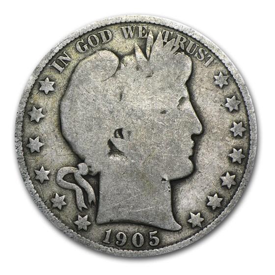 1905-O Barber Half Dollar Good