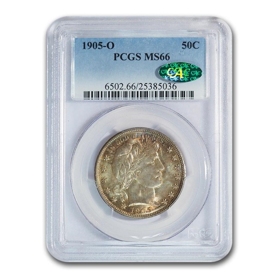 1905-O Barber Half Dollar MS-66 PCGS CAC