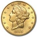 1905-S $20 Liberty Gold Double Eagle AU