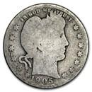 1905-S Barber Quarter AG