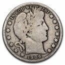 1906 Barber Half Dollar Good