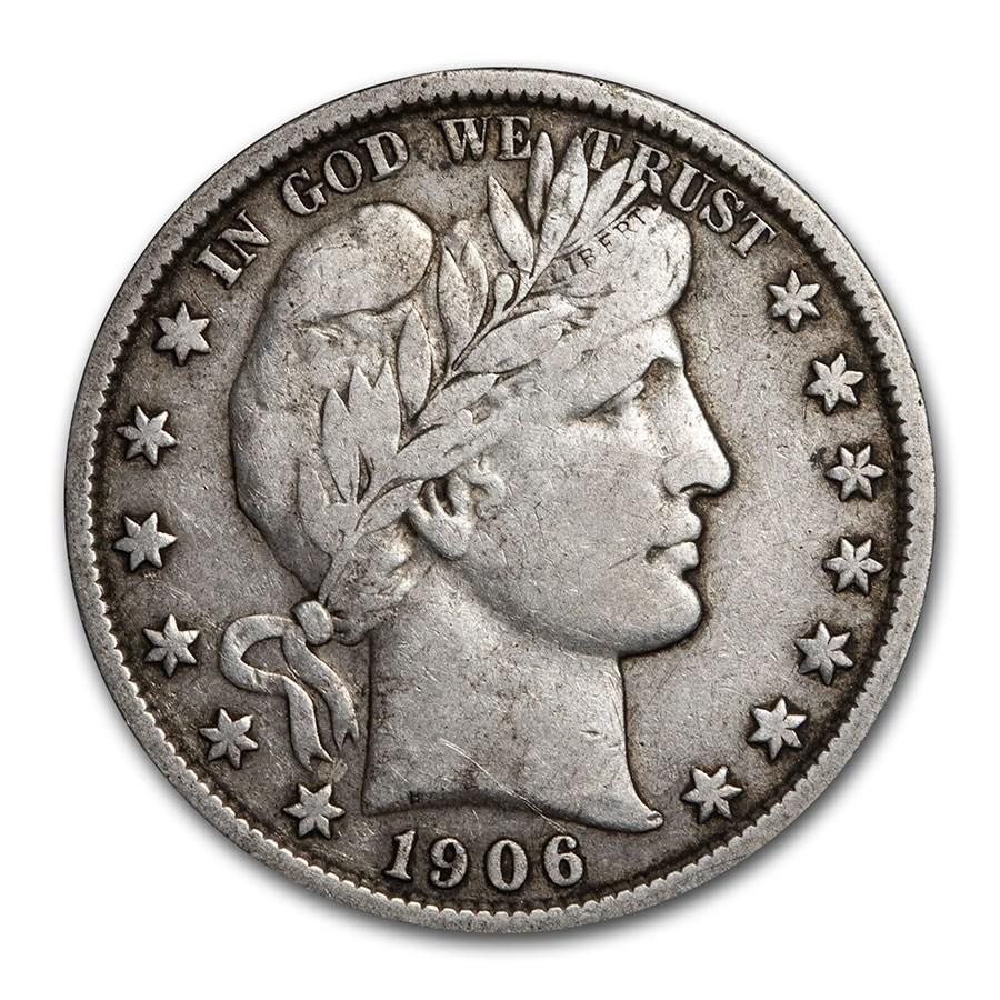 1906 Barber Half Dollar VF