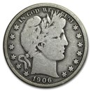 1906 Barber Half Dollar VG