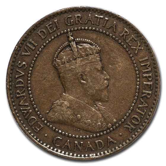 1906 Canada Large Cent XF