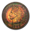 1906 Indian Head Cent PF-64 NGC (Red/Brown)