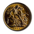 1906-M Australia Gold Sovereign Edward VII BU
