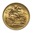1906-P Australia Gold Sovereign Edward VII BU