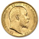 1906-S Australia Gold Sovereign AU