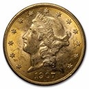 1907 $20 Liberty Gold Double Eagle BU