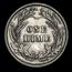 1907 Barber Dime BU