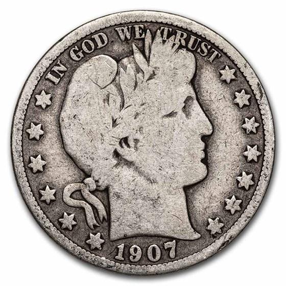 1907 Barber Half Dollar Good