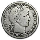 1907-O Barber Half Dollar VG