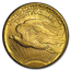 1908-1928 8-Coin $20 Saint-Gaudens Gold Double Eagle Set AU