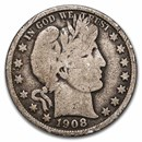 1908 Barber Half Dollar Good