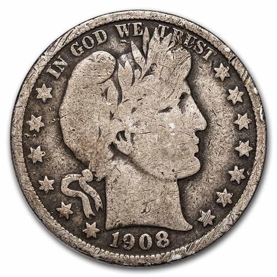 1908 Barber Half Dollar Good