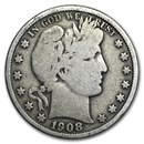1908 Barber Half Dollar VG