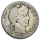 1908 Barber Quarter Good/VG