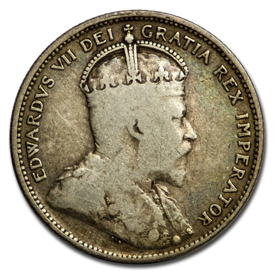 1908 Canada 25 Cents VG