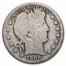 1908-D Barber Half Dollar Good