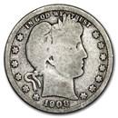 1908-D Barber Quarter Good/VG