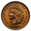 1908 Indian Head Cent MS-65 PCGS (Red/Brown)