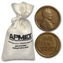 1909-1919 Lincoln Cent 5,000-ct Bags (All from the 1910s)