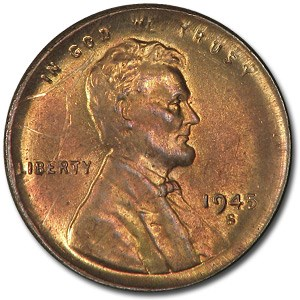 1909-1958 Lincoln Cent (Partial Collared, Dates of our choice)