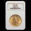 1909 $20 Saint-Gaudens Gold Double Eagle AU-58 NGC