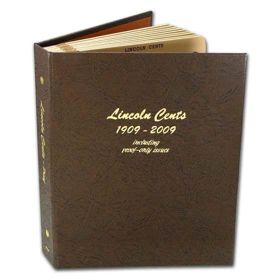 1909-2009 Near Complete Lincoln Cent Set Dansco Album