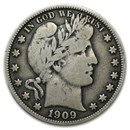 1909 Barber Half Dollar Fine-15