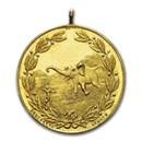 1909 Belgian Congo Gold Medal Leopold II MS-63 NGC
