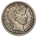 1909-D Barber Quarter Fine