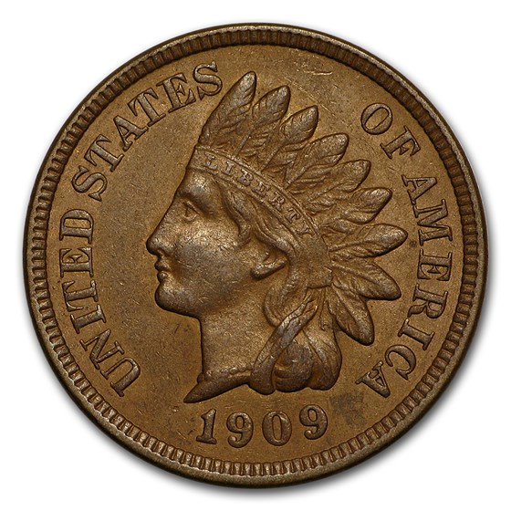 1909 Indian Head Cent AU